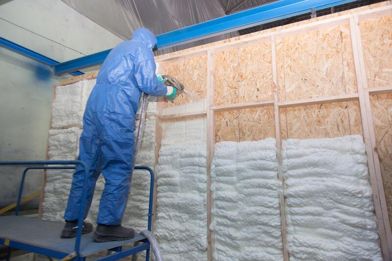 Installation Spray Foam Insulation Contractors